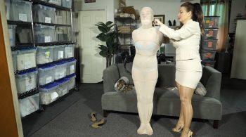Bondage: JJ Plush, Born to be Bound – Not really the job interview she signed up for…. – Dakkota Grey