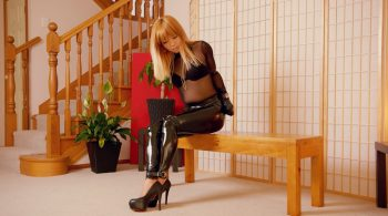 RS-280 Movie – Locked In My New Leather Mittens! – Mina – Restricted Senses