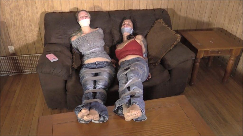 Brendas Bound Bondage Addictions – Rent Money – Vicky Vixxx and Brenda Bound