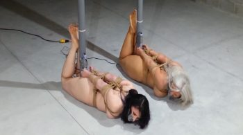 Sandra Silvers – Please Tie Me Up – Two Nude MILFs, Hogtied and Toe-Tied to Poles, Brought to Intense Orgasm by Redhead Mistress #1950 HD