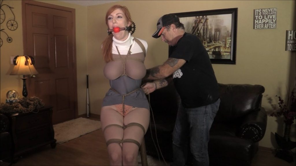 Brendas Bound Bondage Addictions – She Had Been Asked To Model A New Brand Of Sweater – Lauren Phillips