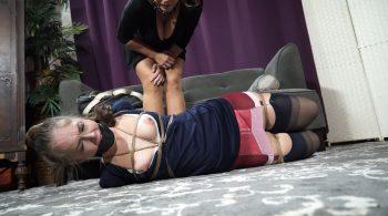 Bondage: JJ Plush, Born to be Bound – Therapist visit gone wrong – Rachel Adams