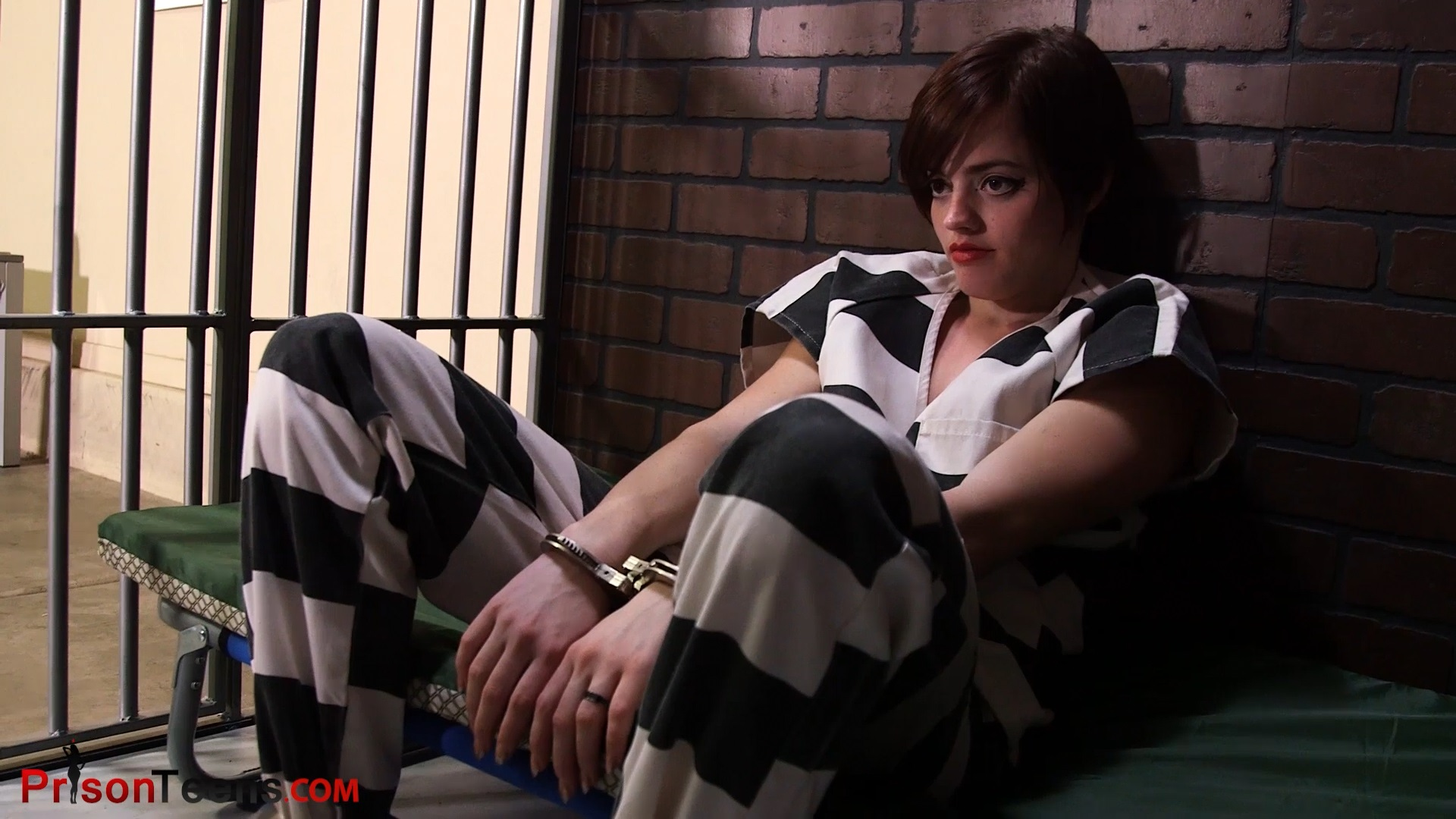 Violet Pixie Gets Searched and Thrown in the Cell