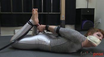 Barbary Rope Struggle – Fetish Pros – Barbary Rose