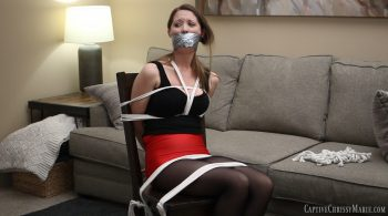 Chrissy Captured & Chair Tied HD – Captive Chrissy Marie