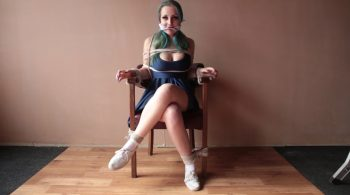 Anija – Cross Chair – Blackfoxbound Clip Store – Alt Girls Bound