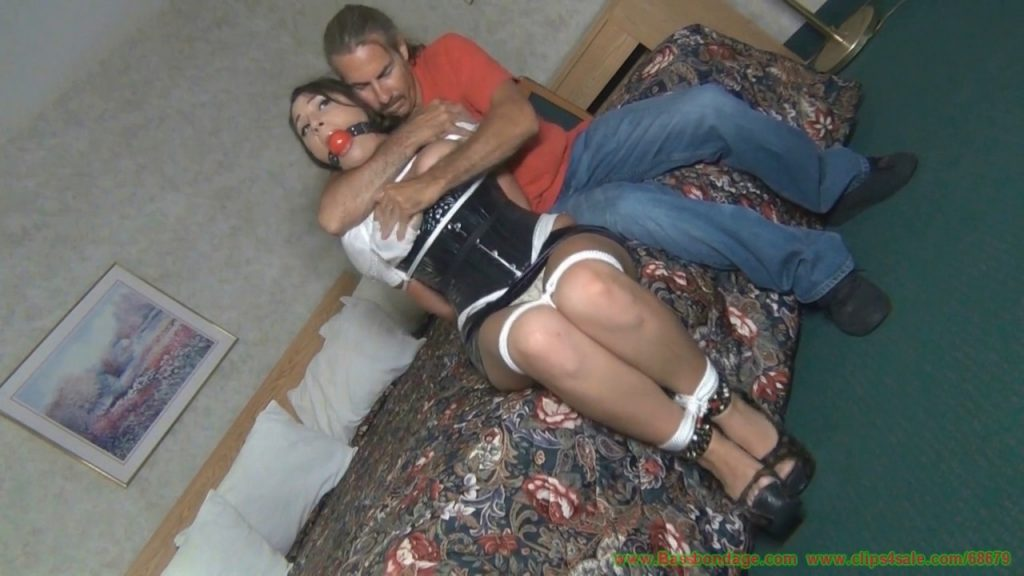 Julia In: He Saw The Way I Was Dressed, Hogtied Me Up, Strapped A Ballgag In My Mouth And Made Me Into This Shiny Bondage Toy-Full Movie – A GIRLY CALAMITY BY BASSBONDAGE
