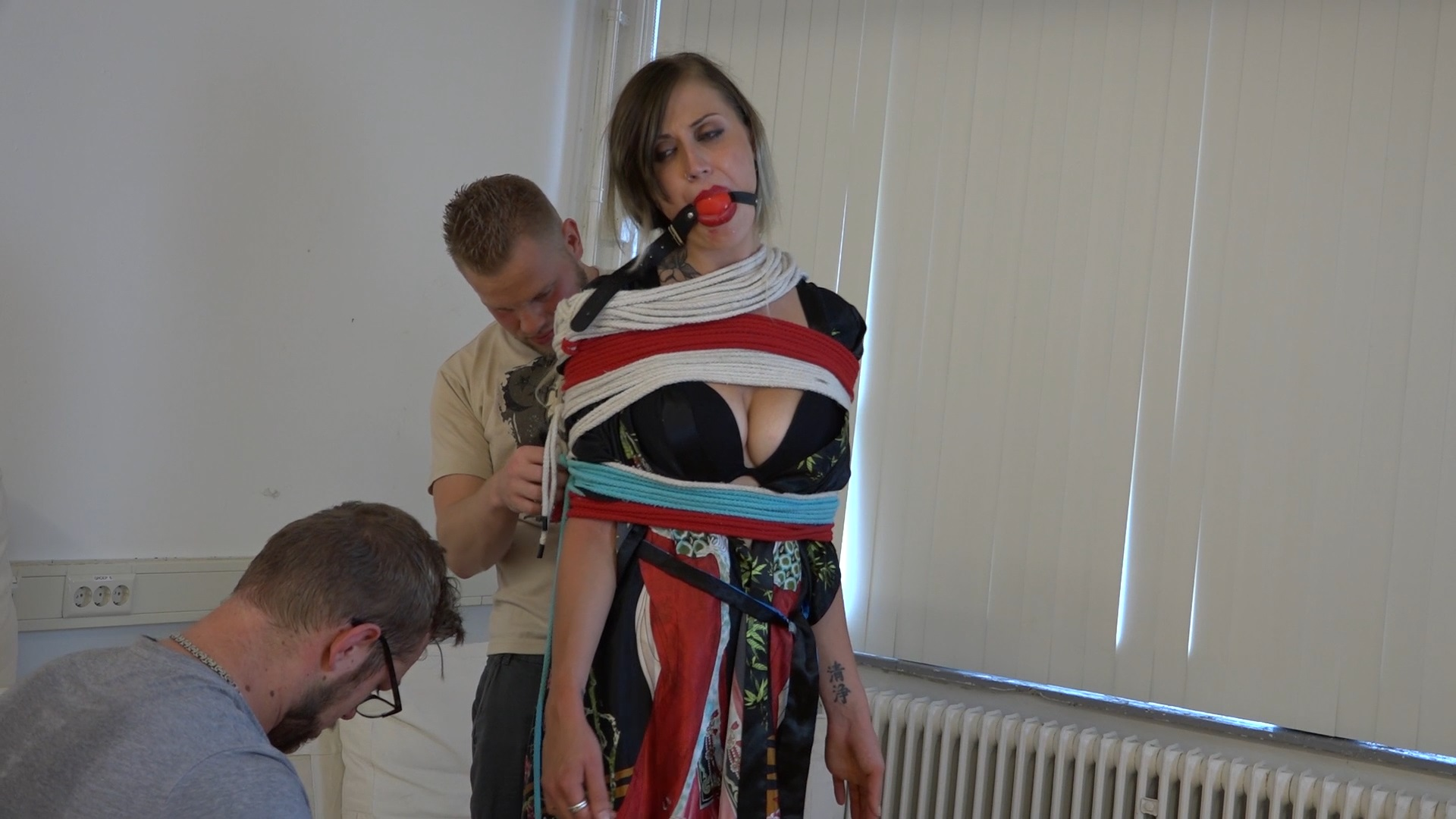 Julie Vega Rope Encasement Releasing HD