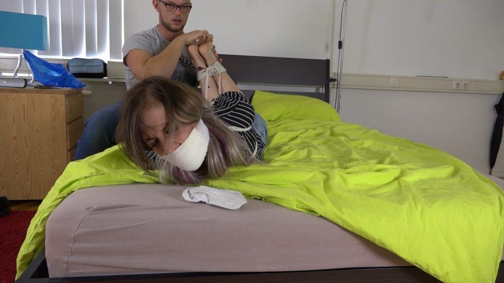Julie Vega – Music Too Loud Tickling HD – Restricting Ropes