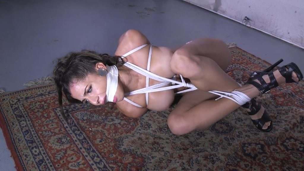 Maybe I have your snooping daughter tied up in my garage – Girl Next Door Bondage – Chichi Medina