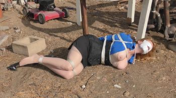 Worst Monday Ever! Secretary Grabbed Bound Dumped and Abandoned – Lorelei Mission – BEDROOM BONDAGE by Lorelei