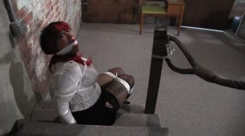 Take Everything! Then leave me tied up and gagged! – Mouth Stuffed and Tied Up Girls