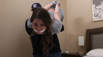Webcam Tape Challenge 2 – Captive Chrissy Marie
