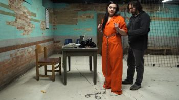 Anna and Adara in Jail – Handcuffed Girls