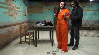 Anna and Adara in Jail – Handcuffed Girls