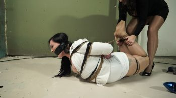 Anna is back for two clips in one!! – Bondage: JJ Plush, Born to be Bound