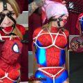 Aubree Lane Spidergirl Unmasked