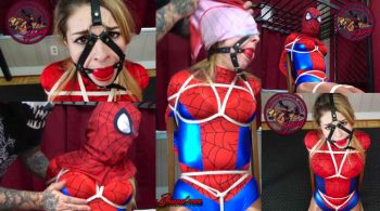 Aubree Lane.. Spidergirl Unmasked – ShinyBound Productions