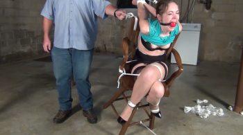 Rachel Adams: Stool – ITN – Bondage by Ivan Boulder