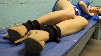 Rachel: Flight attendant arrested overseas part#1 – Handcuffed Girls