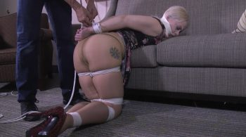 Step Daughter kept bound, gagged and out of the way – Girl Next Door Bondage