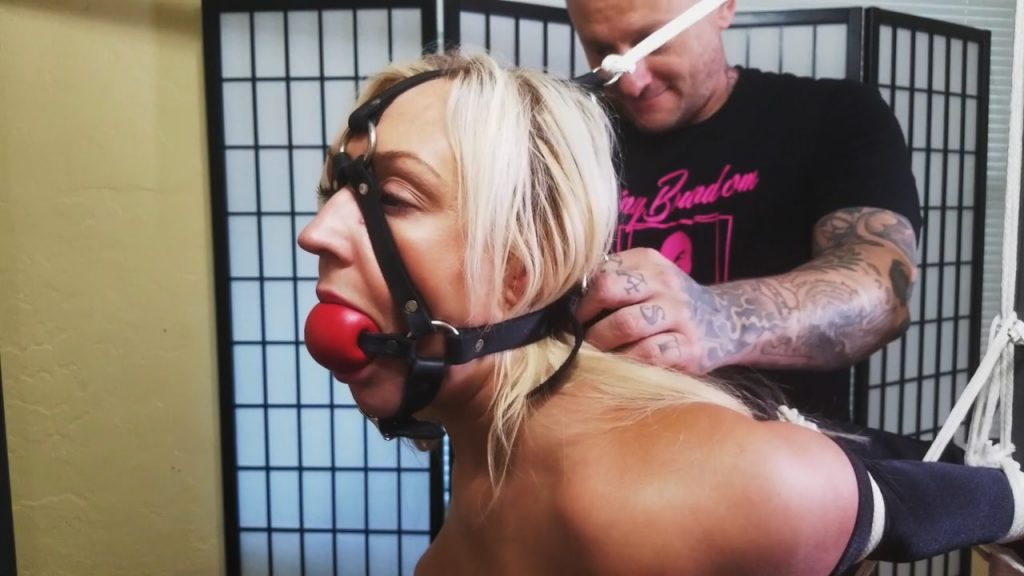 Amber Deen.. Tied Up in Pink Satin 2 – ShinyBound Productions
