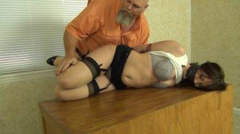 Amiee: Office Slut – Bondage by Ivan Boulder