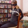 Chrissy Marie Thief Caught and Chairtied