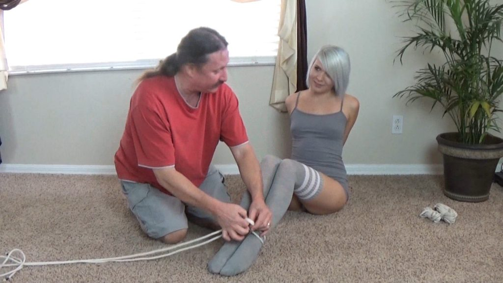 Daddy, Will You Tie Me Up Like You Did My Sister? – Badman's Bondage Babes
