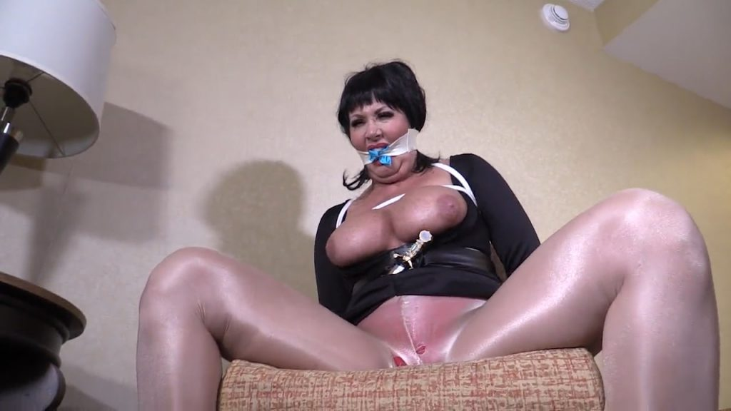 No one would dare tie up and humiliate Mistress of the Dark! – Girl Next Door Bondage