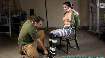 Raven's First Hogtie – Part 3 – Futile Struggles