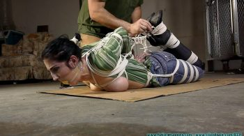 Raven's First Hogtie – Part 4 – Futile Struggles