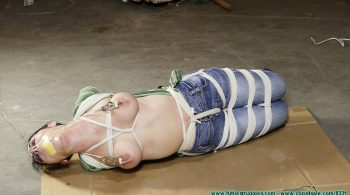 Raven's First Hogtie – Part 5 – Futile Struggles