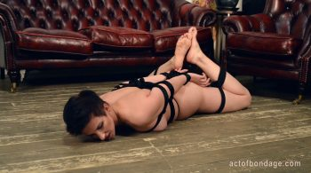Russian girl in bondage. Severe pussy torture – Act of Bondage – Claudia