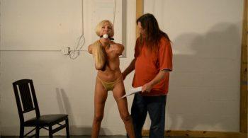 Sign The Papers Or Else! – Badman's Bondage Babes! – Amanda Fox