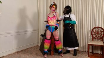 Superheroine Rainbow-Tigress is Caught and Bound – Lauren Kiley – BEDROOM BONDAGE by Lorelei