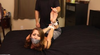 Bound Bare Foot Worship & Torture – Captive Chrissy Marie