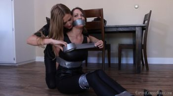 Chrissy the Burglar vs Detective Star – Captive Chrissy Marie