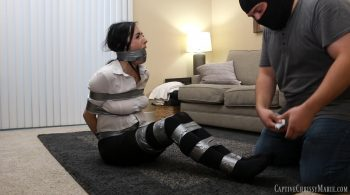 Dixie Taped & Taken In Tights – Captive Chrissy Marie