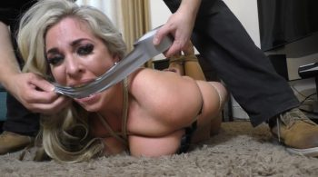 Kellie in: OverTaken Mistress Games: Let's Play Restrain the Feet of the Gag-Frothing Sow-Trussed Dom! (Full Clip) – Borderland Bound