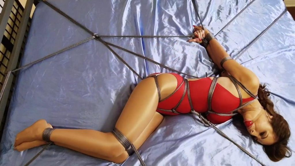 Lucy Purr.. Busty Lifeguard Bound and Gagged Part 1 – ShinyBound Productions