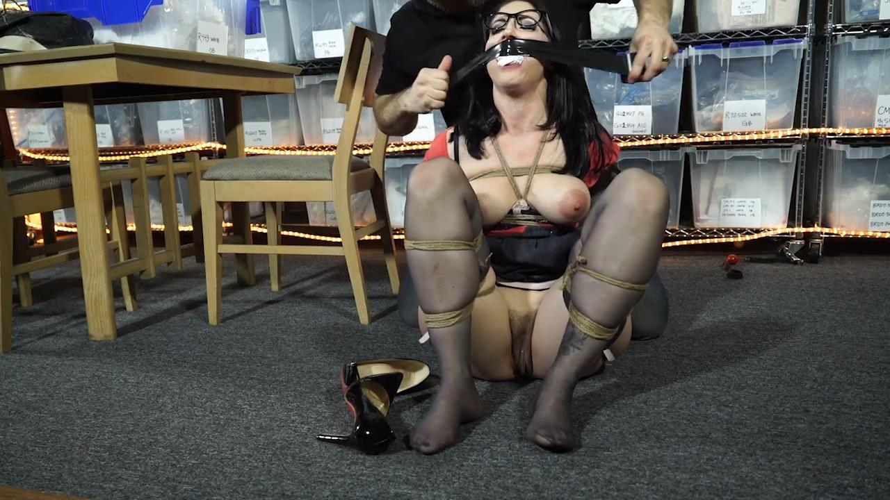 Raven tied up and held until her husband pays up