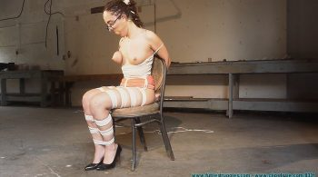 Roxanne Rae's Tight Hogtie – Part 3 – Futile Struggles