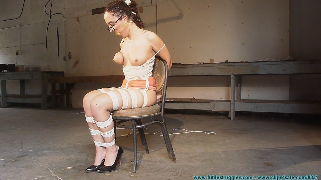 Roxanne Raes Tight Hogtie Part3