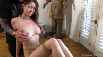 Slave Girl Struggling To Escape – Captive Chrissy Marie