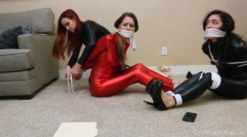 Three Sexy Spies Seek Revenge – Captive Chrissy Marie
