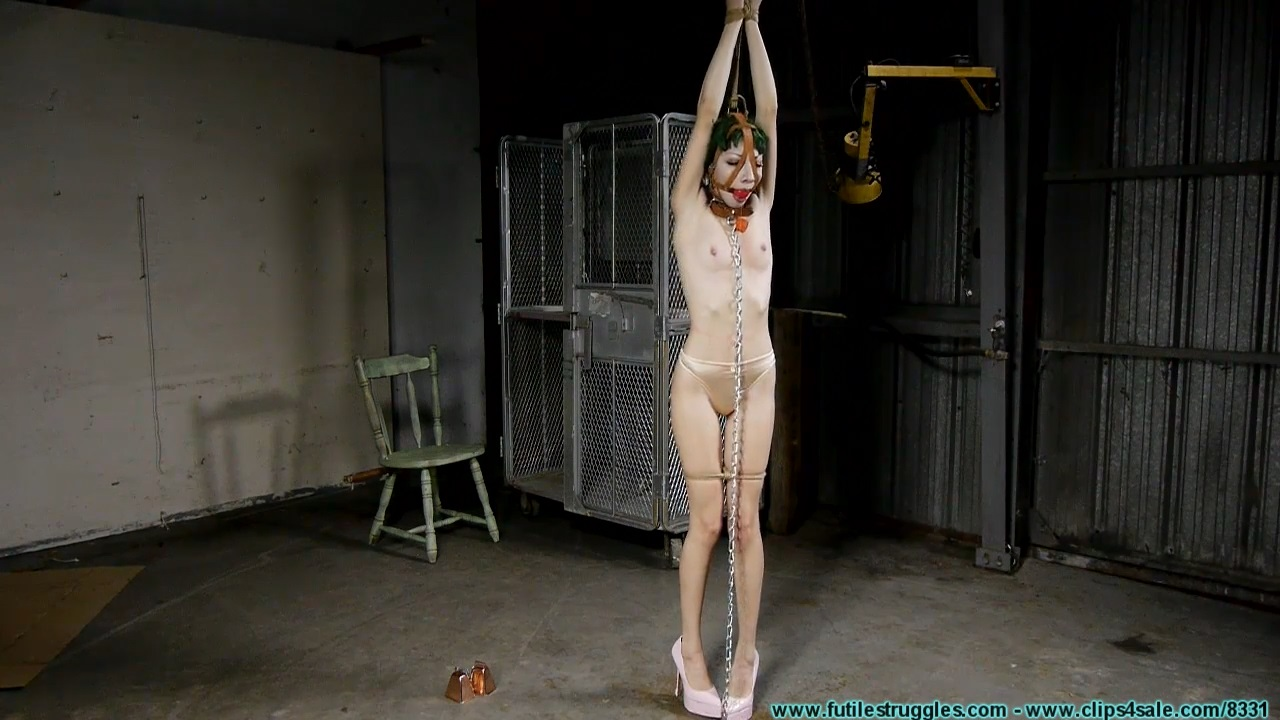 Vesper Leashed Paraded Strung Up and then Hogzipped_Part1
