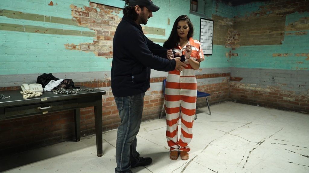 Charlie Mancini at intake part#3 – Handcuffed Girls