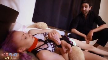 Cheerleader captured and turned into Adultbaby by Creepy Uncle Jay – AGEPLAY 247