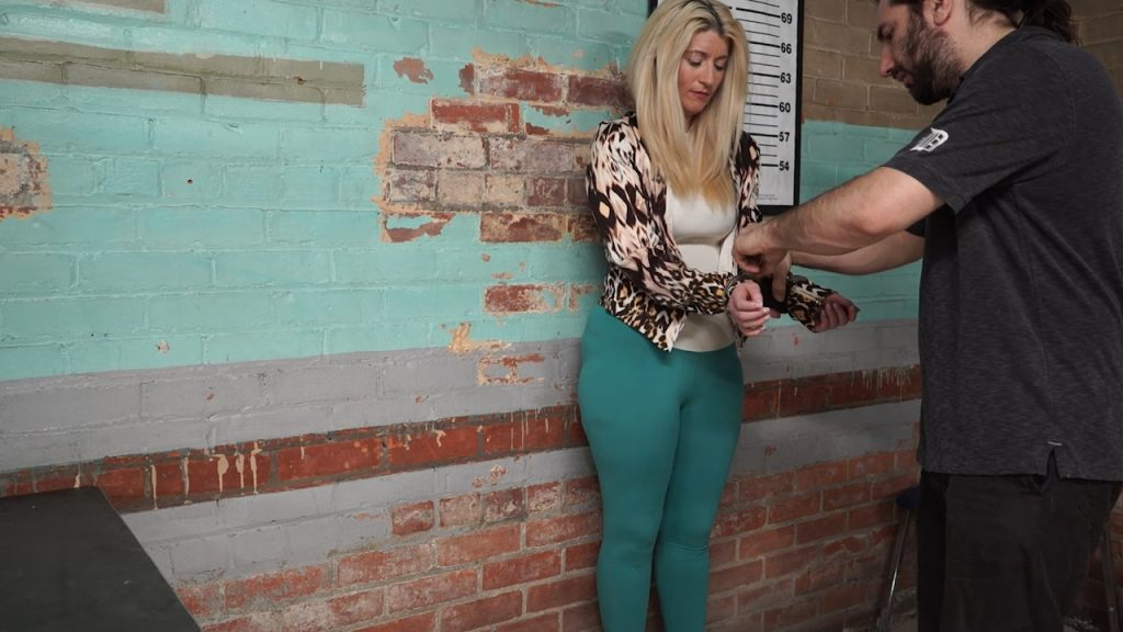 Constance arrested on spring break part#1 – Handcuffed Girls
